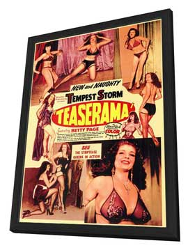 Teaserama - 11 x 17 Movie Poster - Style A - in Deluxe Wood Frame