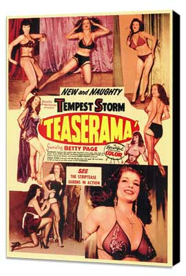 Teaserama - 11 x 17 Movie Poster - Style A - Museum Wrapped Canvas