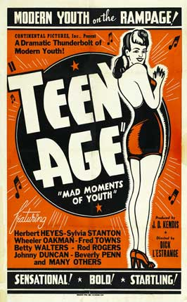 Teenage - 27 x 40 Movie Poster - Style C