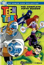 Teen Titans - 27 x 40 Movie Poster - Style A