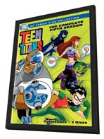 Teen Titans - 27 x 40 Movie Poster - Style A - in Deluxe Wood Frame