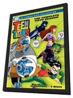 Teen Titans - 11 x 17 Movie Poster - Style A - in Deluxe Wood Frame