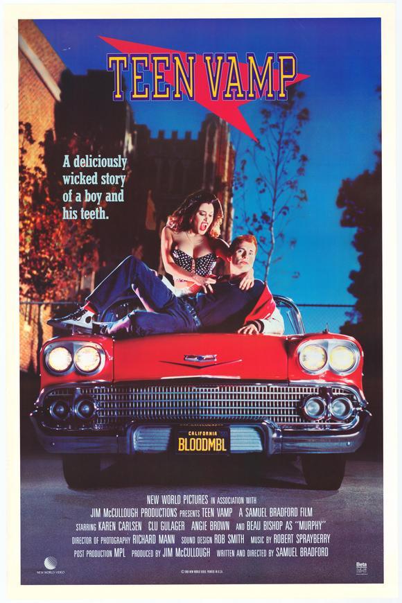 Teen Vamp Movie Poster...