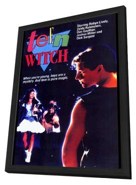Teen Witch - 27 x 40 Movie Poster - Style A - in Deluxe Wood Frame