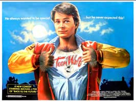 Teen Wolf - 30 x 40 Movie Poster UK - Style A