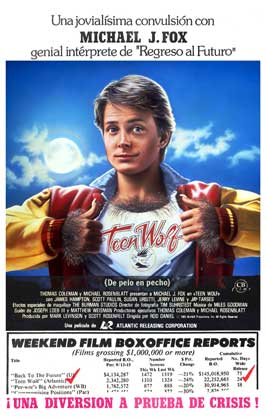 Teen Wolf - 27 x 40 Movie Poster - Spanish Style A