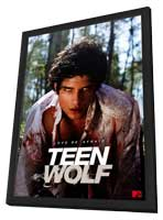 Teen Wolf (TV) - 11 x 17 TV Poster - Style A - in Deluxe Wood Frame