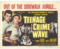 Teenage Crime Wave - 11 x 14 Movie Poster - Style A