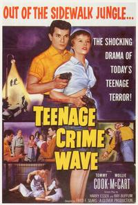 Teenage Crime Wave - 27 x 40 Movie Poster - Style A