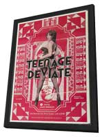 Teenage Deviate - 11 x 17 Movie Poster - Style A - in Deluxe Wood Frame