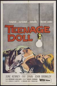 Teenage Doll - 43 x 62 Movie Poster - Bus Shelter Style A