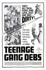 Teenage Gang Debs - 27 x 40 Movie Poster - Style A