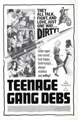 Teenage Gang Debs - 11 x 17 Movie Poster - Style A