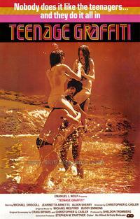 Teenage Graffiti - 27 x 40 Movie Poster - Style A