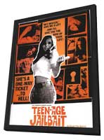 Teenage Jail Bait - 27 x 40 Movie Poster - Australian Style A - in Deluxe Wood Frame