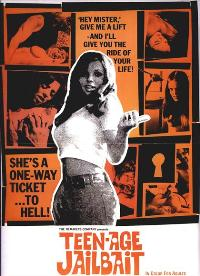Teenage Jail Bait - 43 x 62 Movie Poster - Australian Style A