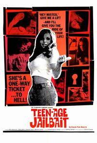 Teenage Jailbait - 11 x 17 Movie Poster - Style A