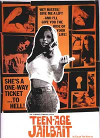 Teenage Jailbait - 43 x 62 Movie Poster - Bus Shelter Style A