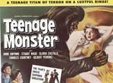 Teenage Monster - 11 x 14 Movie Poster - Style B
