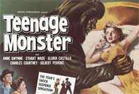 Teenage Monster - 11 x 17 Movie Poster - Style B