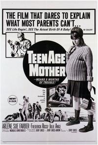 Teenage Mother - 11 x 17 Movie Poster - Style A
