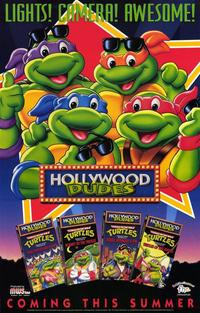 Teenage Mutant Ninja Turtles - Hollywood Dudes - 11 x 17 Movie Poster - Style A