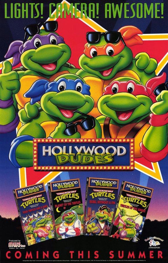 Teenage mutant ninja turtles hollywood dudes
