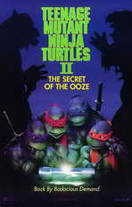 Teenage Mutant Ninja Turtles 2: The Secret of the Ooze - 11 x 17 Movie Poster - Style A