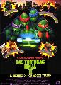 Teenage Mutant Ninja Turtles 2: The Secret of the Ooze - 11 x 17 Movie Poster - Spanish Style A