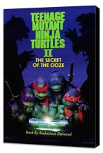 Teenage Mutant Ninja Turtles 2: The Secret of the Ooze - 27 x 40 Movie Poster - Style A - Museum Wrapped Canvas