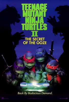 Teenage Mutant Ninja Turtles 2: The Secret of the Ooze - 27 x 40 Movie Poster - Style A