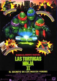 Teenage Mutant Ninja Turtles 2: The Secret of the Ooze - 11 x 17 Movie Poster - Spanish Style A