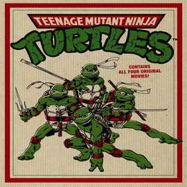 Teenage Mutant Ninja Turtles 2: The Secret of the Ooze - 30 x 30 Movie Poster - Style A