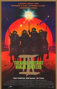Teenage Mutant Ninja Turtles 3 - 11 x 17 Movie Poster - Style B