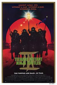 Teenage Mutant Ninja Turtles 3 - 27 x 40 Movie Poster - Style A