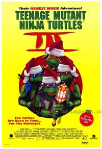 Teenage Mutant Ninja Turtles 3 - 27 x 40 Movie Poster - Style B