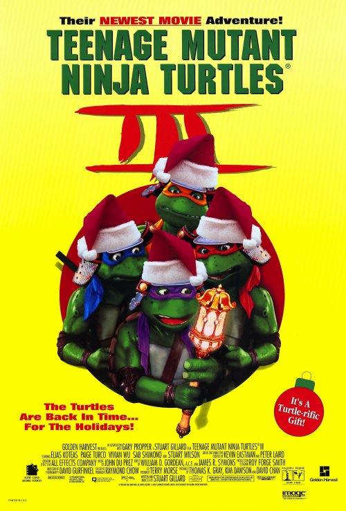 Teenage Mutant Ninja Turtles 3 Movie Posters From Movie ...