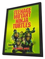 Teenage Mutant Ninja Turtles - 11 x 17 Movie Poster - Style C - in Deluxe Wood Frame