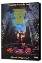 Teenage Mutant Ninja Turtles - 27 x 40 Movie Poster - Style B - Museum Wrapped Canvas