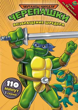 Teenage Mutant Ninja Turtles - 11 x 17 Movie Poster - Russian Style D