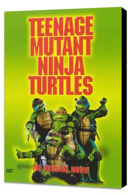 Teenage Mutant Ninja Turtles - 11 x 17 Movie Poster - Style C - Museum Wrapped Canvas