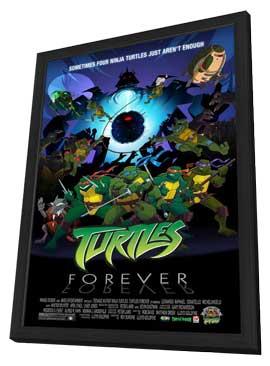 Teenage Mutant Ninja Turtles - 11 x 17 Movie Poster - Style A - in Deluxe Wood Frame