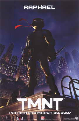 Teenage Mutant Ninja Turtles - 11 x 17 Movie Poster - Style D