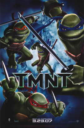 Teenage Mutant Ninja Turtles - 11 x 17 Movie Poster - Style E