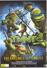 Teenage Mutant Ninja Turtles - 43 x 62 Movie Poster - Bus Shelter Style B