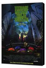 Teenage Mutant Ninja Turtles: The Movie - 27 x 40 Movie Poster - Style A - Museum Wrapped Canvas