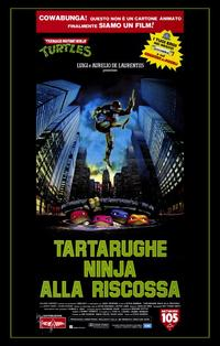 Teenage Mutant Ninja Turtles: The Movie - 11 x 17 Movie Poster - Italian Style A