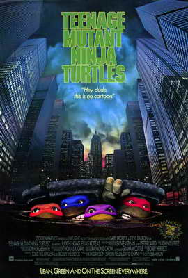 Teenage Mutant Ninja Turtles: The Movie - 27 x 40 Movie Poster - Style A