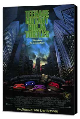 Teenage Mutant Ninja Turtles: The Movie - 11 x 17 Movie Poster - Style A - Museum Wrapped Canvas