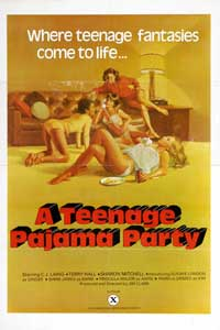 Teenage Pajama Party - 11 x 17 Movie Poster - Style A